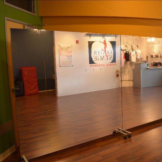 Glassless Lightweight Ballet Studio Mirrors