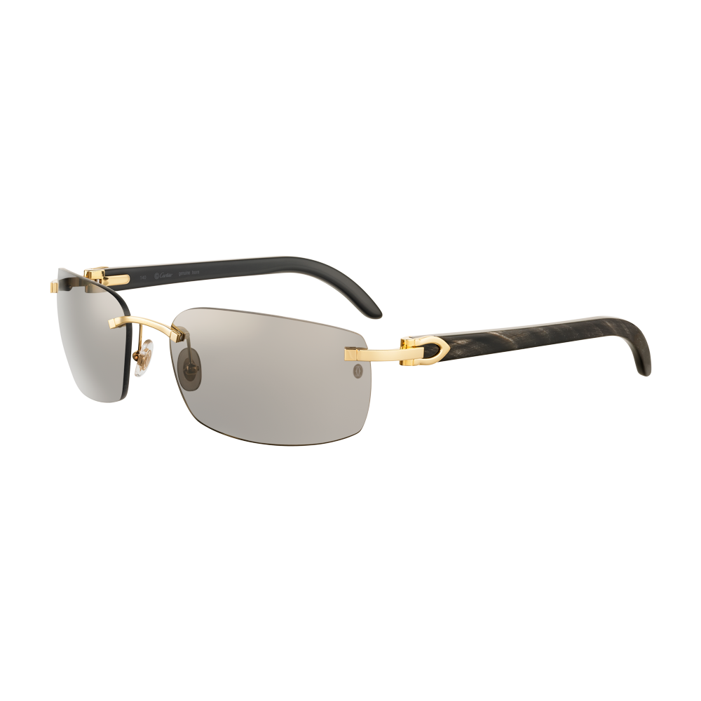 2c13dc5b2e Cartier Rimless Platinum Sunglasses « One More Soul