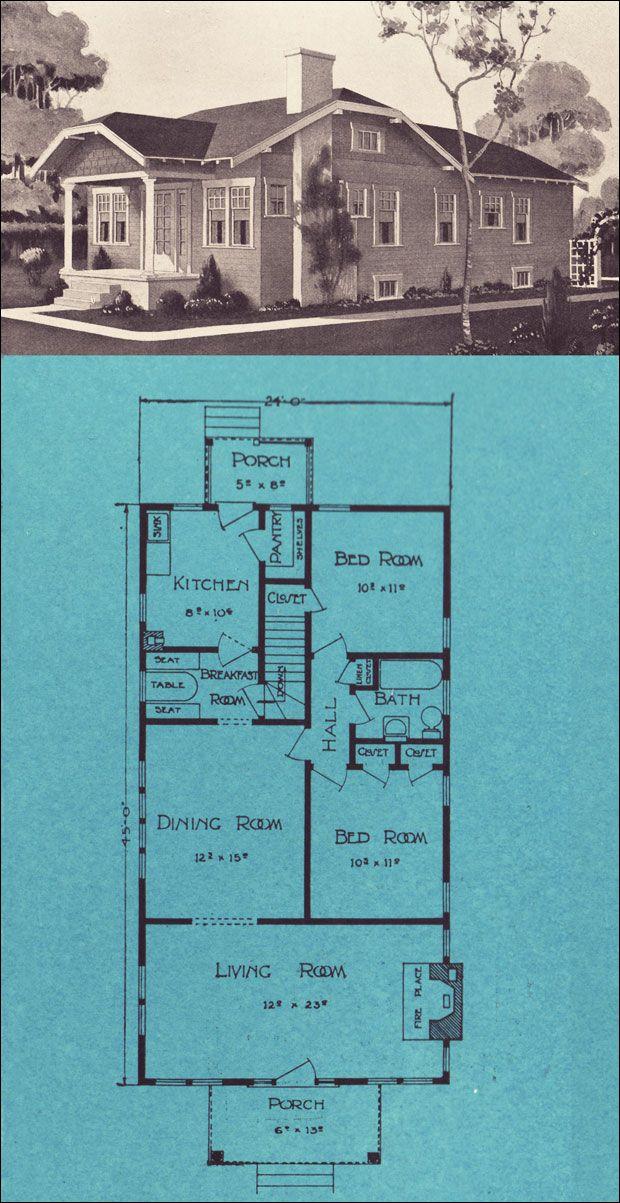 1924 stetson post seattle homes ravenna blue prints for Stetson homes floor plans
