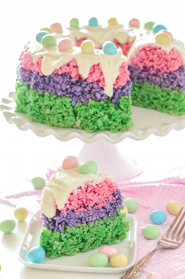 how to make marshmallow rice krispie cakes