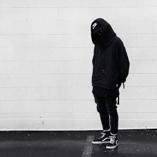 all black sk8 his