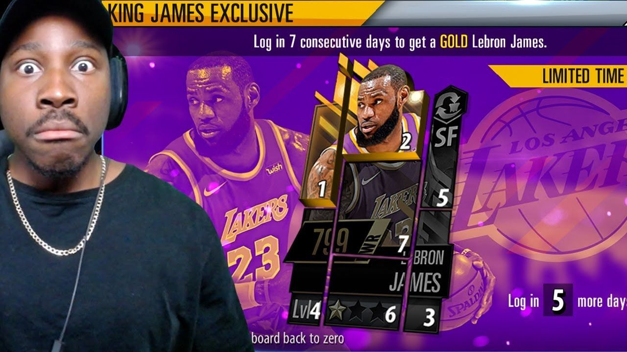 free lebron james 2k