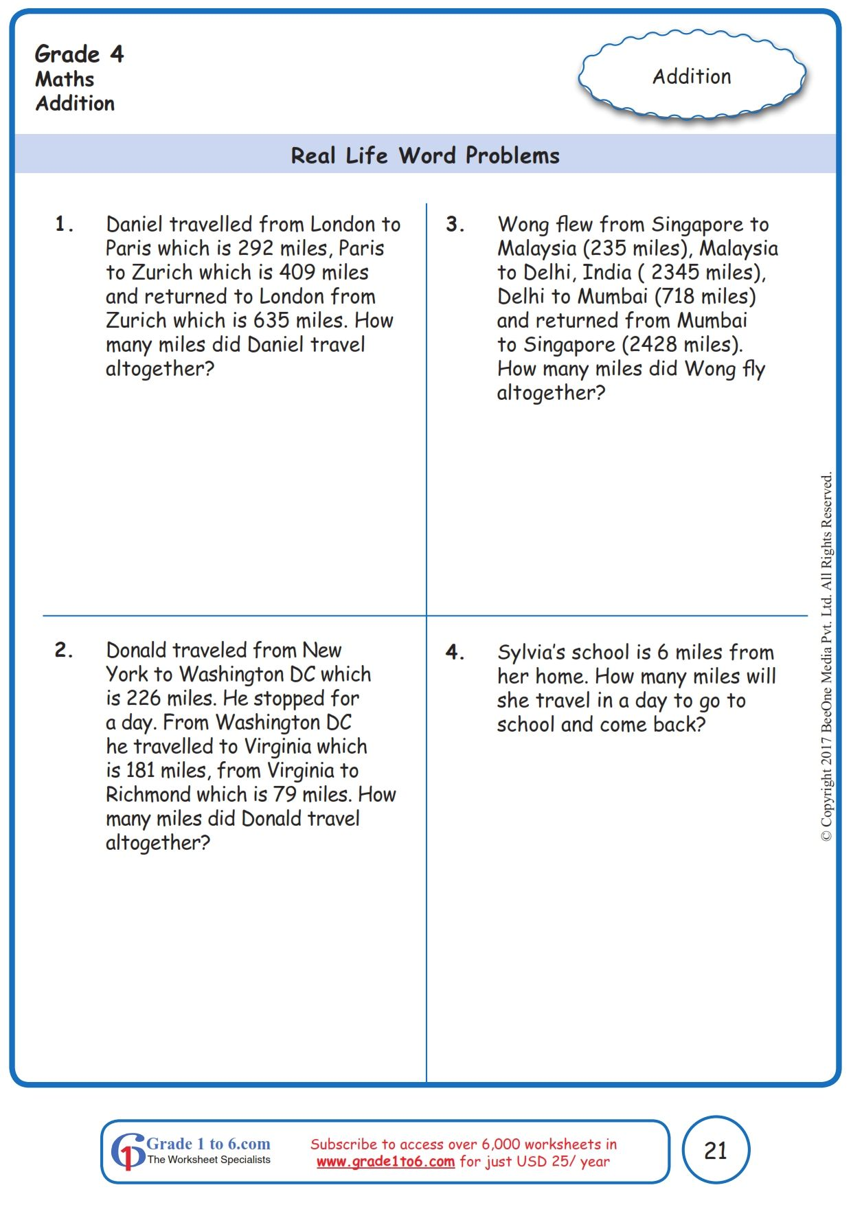 Pin on Grade 4 Math Worksheets: PYP/CBSE/ICSE/Common Core [ 1754 x 1239 Pixel ]