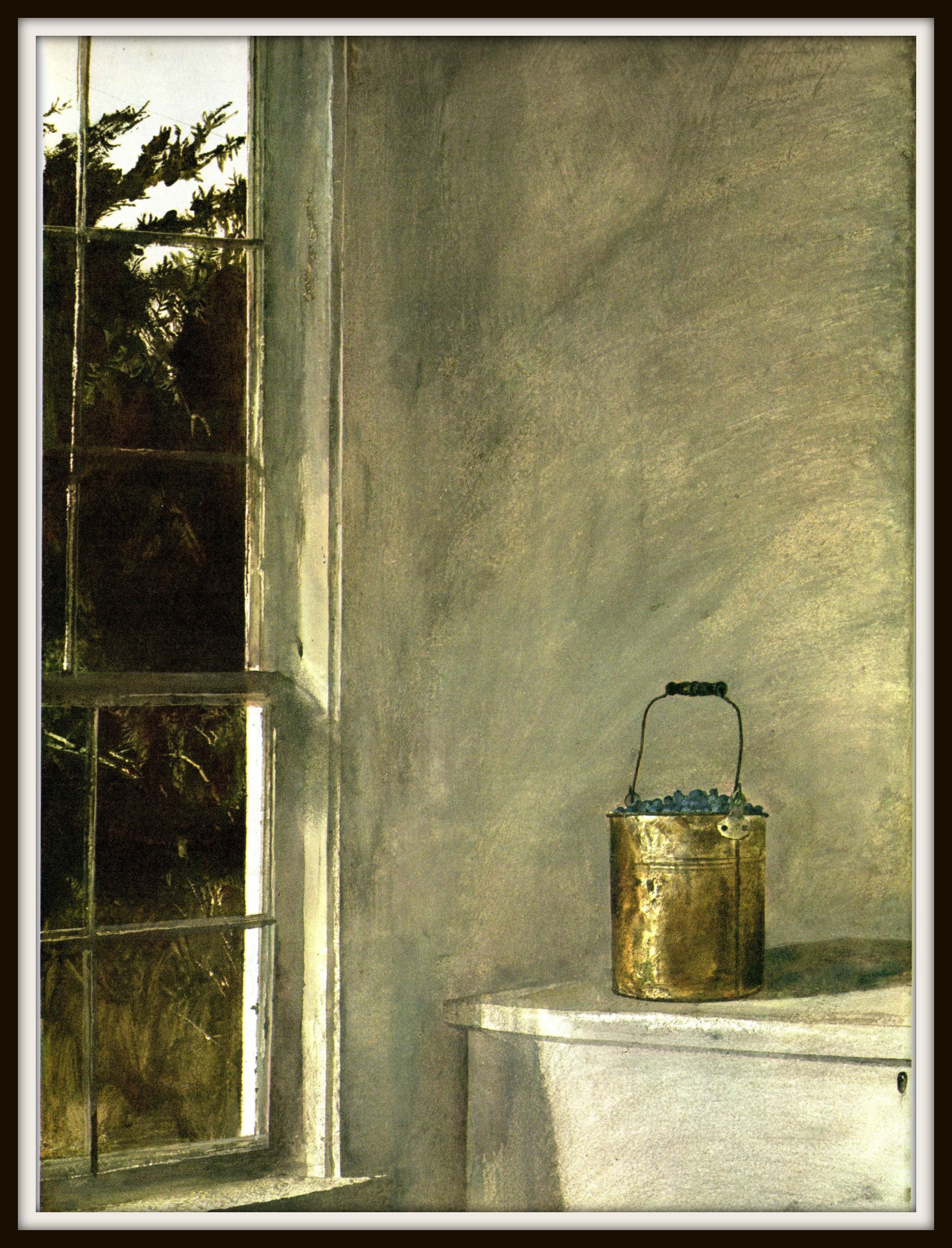 Berry Bucket From Andrew Wyeth Andrew Wyeth Print American