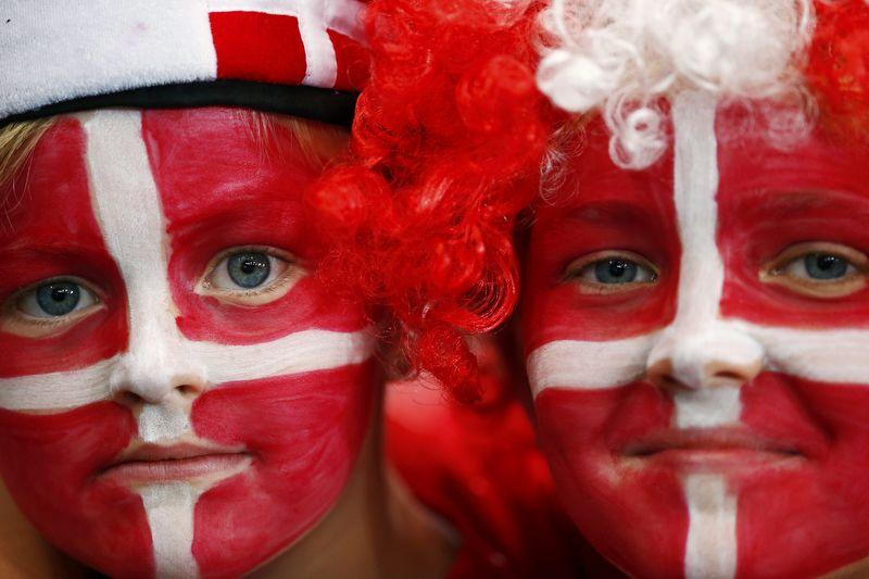 Danish Face-paint  London2012