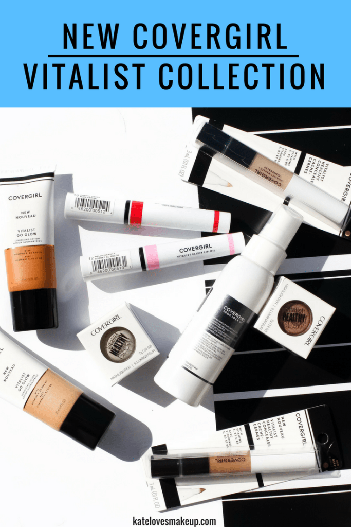 NEW COVERGIRL VITALIST COLLECTION | Kate Loves Makeup