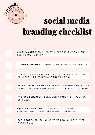 Social Media Branding Checklist Branding Checklist Social Media Marketing Plan Social Media Marketing Business