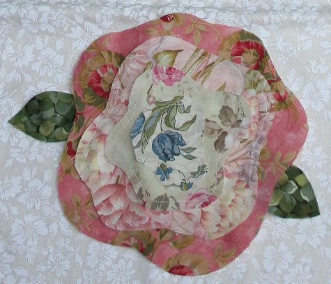 French Rose Quilt Block Google Search Sewing Quilt Paper
