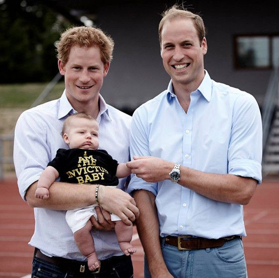 Prince Harry Takes On Baby Duty At Invictus Games Trials