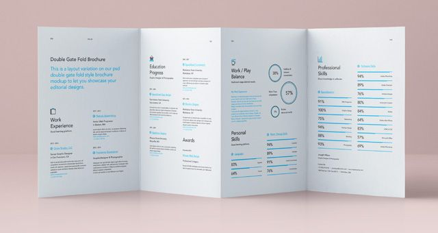 Pin By Inna Inna On Papers    Tri Fold Brochure