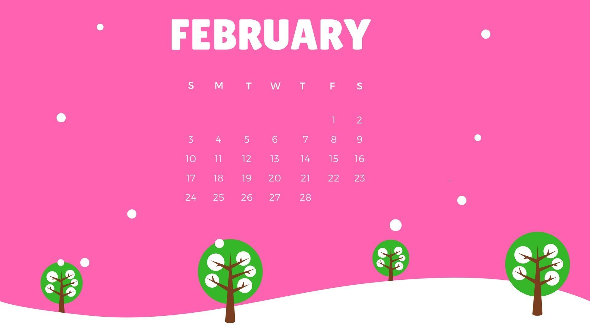 2019 February Wallpaper Calendars february 2019 calendar wallpaper calendar 2019 wallpapersfebruary