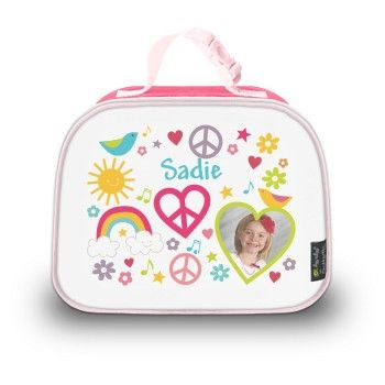 Kids lunch bag (pink)