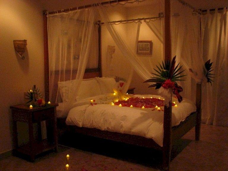 45 Sweet Romantic Valentine Bedroom Decor Ideas Romantic