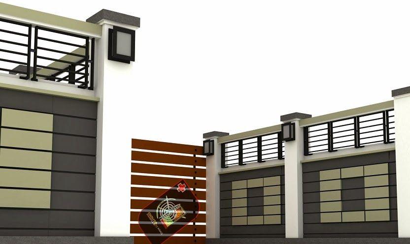 House Minimalis minimalist house fence design | desain pagar rumah minimalis