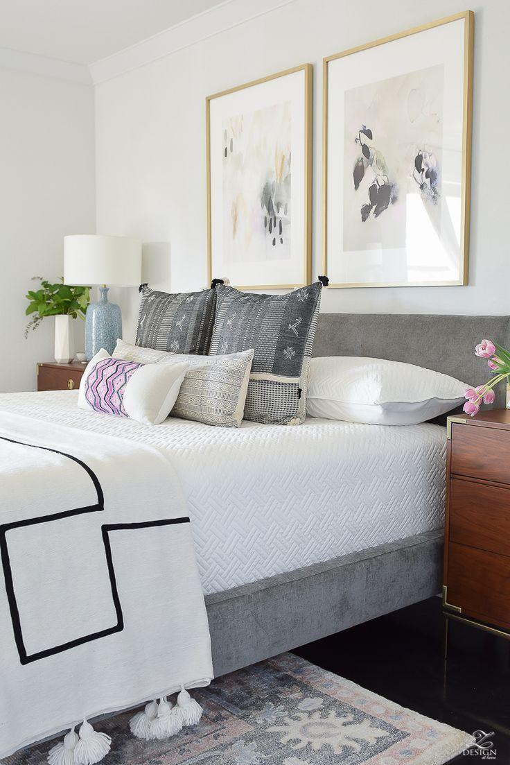 One Room Challenge - Master Bedroom Reveal