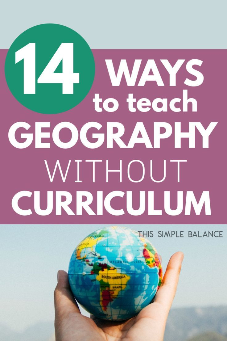 14 Easy Ways to Homeschool Geography without Curriculum ...