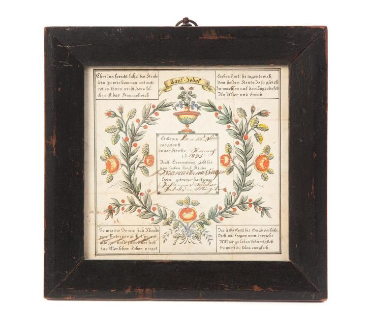Buy online, view images and see past prices for FRAKTUR BY GEORGE ...