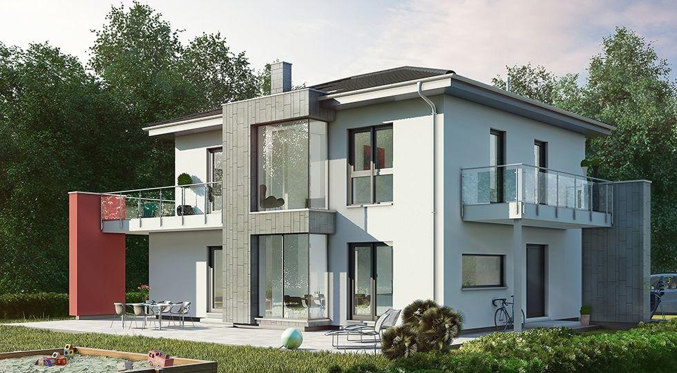 Stadtvilla Family Classic Walmdach - OKAL Haus ➤ Fertighaus mit ...