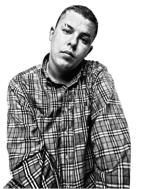 Alexander McQueen photographed by Platon, 1997