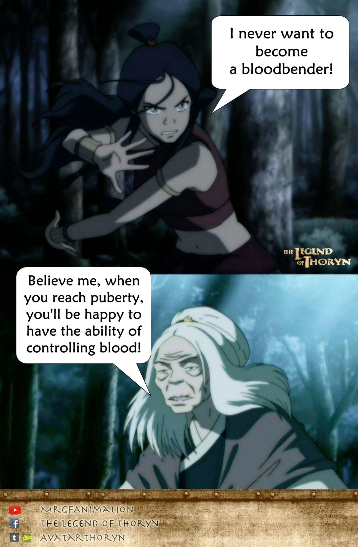 Bloodbender Hahaha Avatar The Last Airbender Avatar The Last