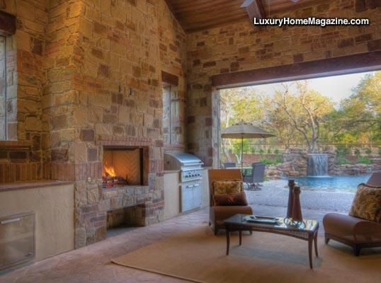 Idea Lhm San Antonio Luxurious New 1 Story Estate Home On Over An Acre With