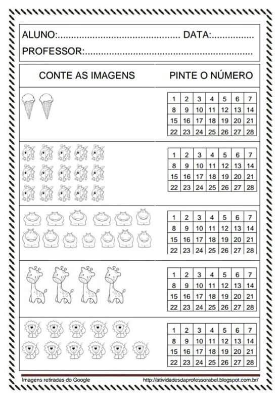 Numeros Atividades De Matematica Atividades Do Dia Das Maes