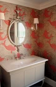 Wallpaper with fish from Osborne & Little titled Derwent
