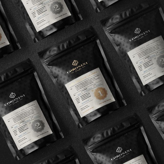 Coronini Cafe on Packaging of the World - Creative Package Design Gallery