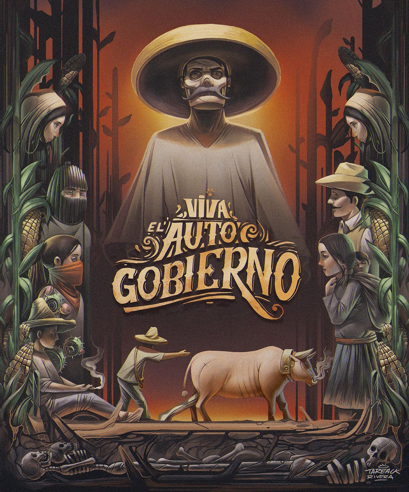 Tareack Rivera Defiende Sus Raíces Blog De Diseño Gráfico Y Creatividad Diseño Gráfico Mexicano Arte Latino Chicano Dibujos