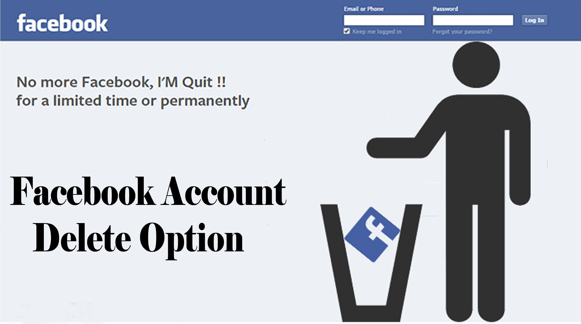 Facebook Account Delete Option How to Accounting