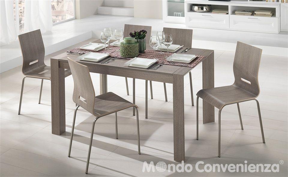 Tavolo e sedia Wood - Mondo Convenienza