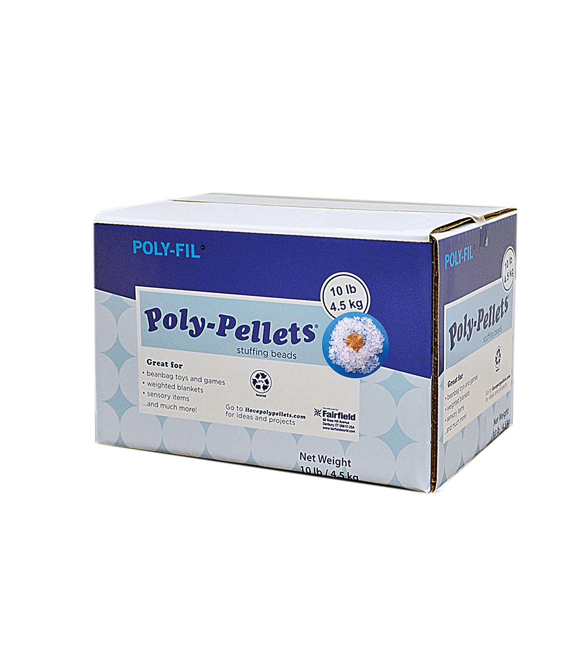 Poly Pellets 160 Oz Weighted Stuffing Beads Weighted