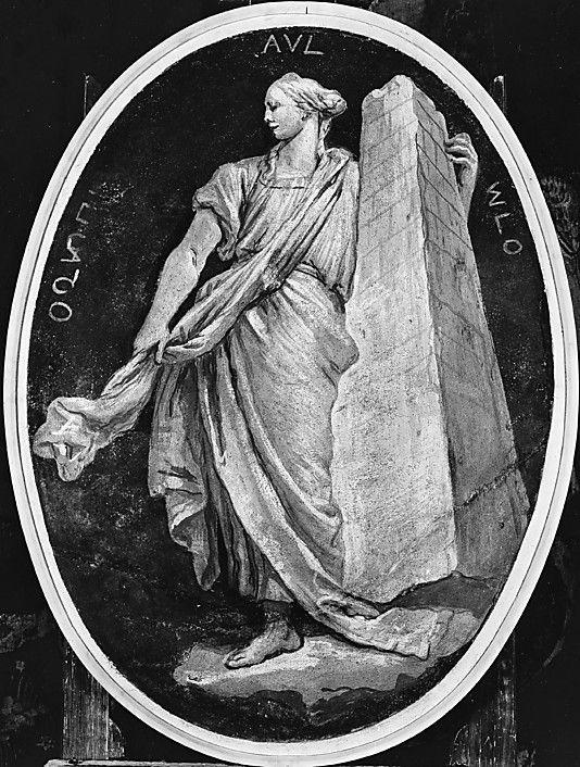 Fortaleza, Giovanni Battista Tiepolo, 1760.  Cipactli López Rodríguez