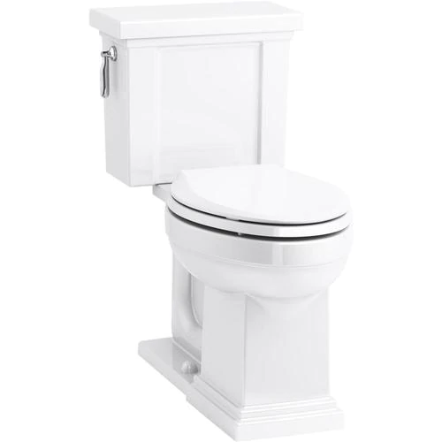 Kohler Tresham White Elongated Comfort Height 2 Piece Toilet 12 In Rough In Size Lowes Com In 2020 Shaker Style Furniture Kohler China Toilet