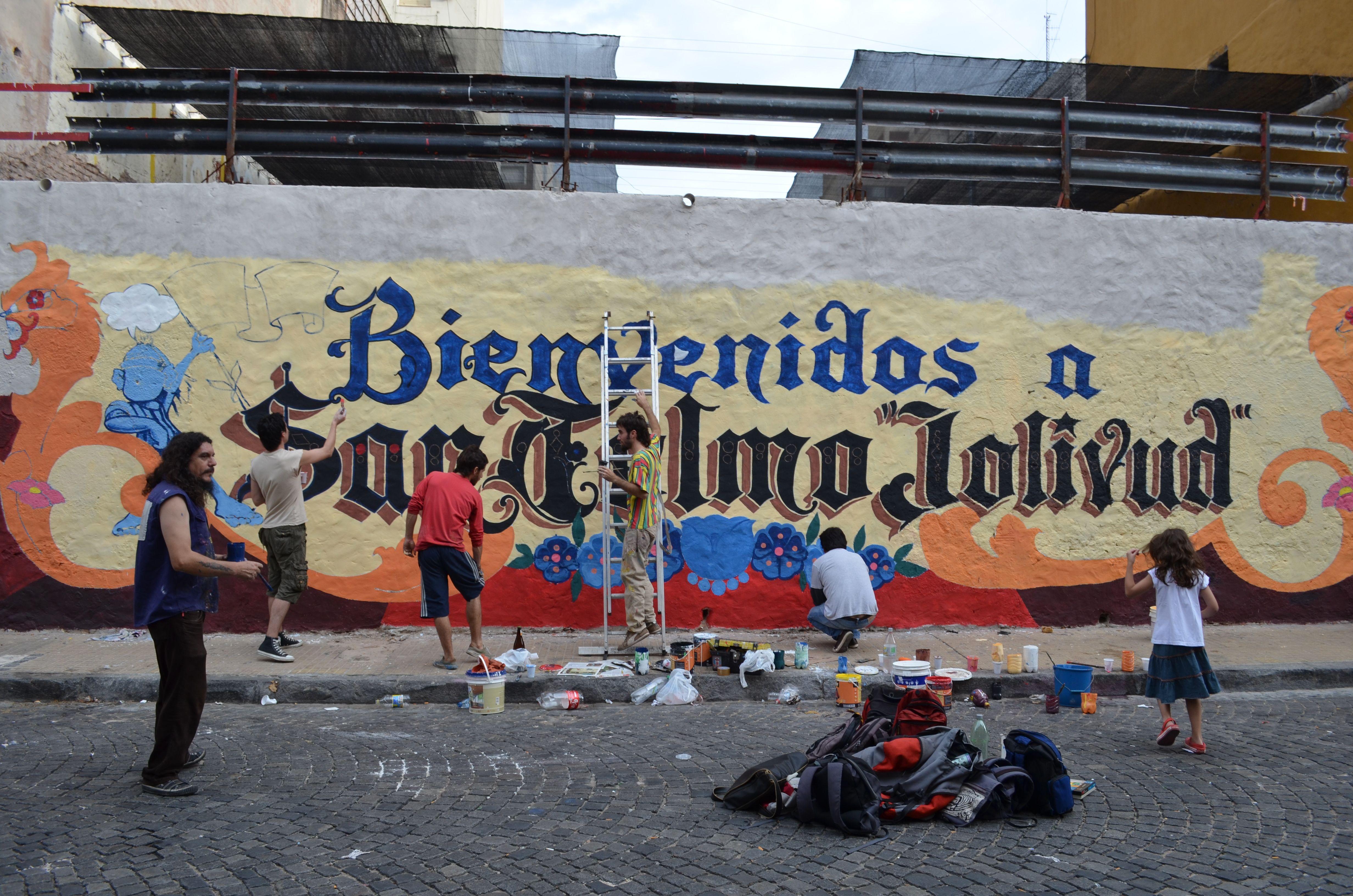 "Making off: ""San Telmo Jolibud"""