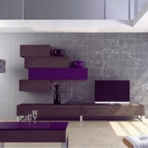 meuble tv design m lamine achat vente meubles tv design m lamine ensemble mural m lamine. Black Bedroom Furniture Sets. Home Design Ideas
