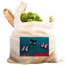 Knitted butterflies Reusable Shopping Bag