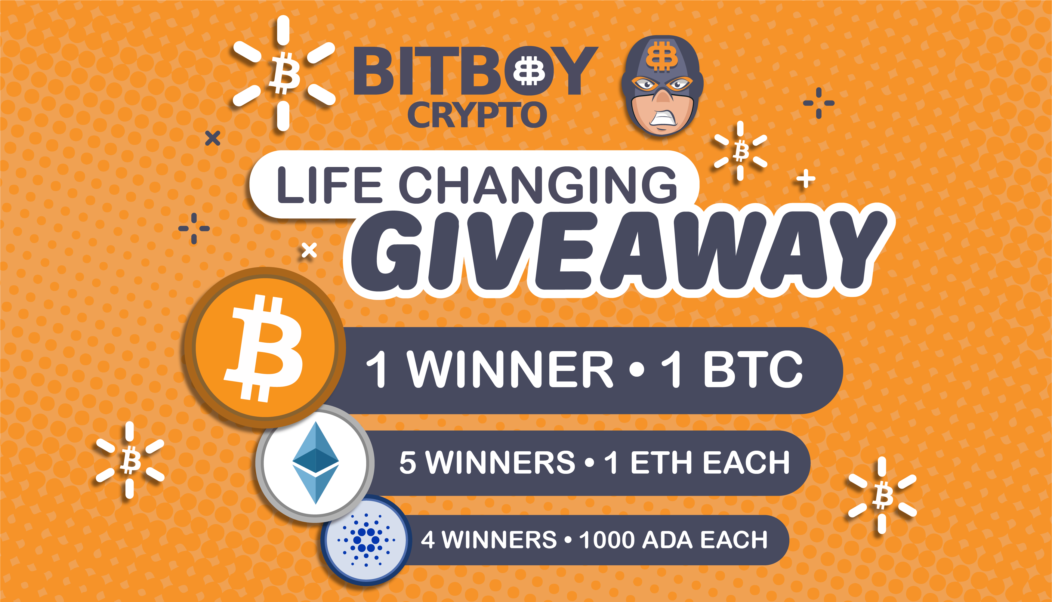 bitcoin giveaway 2021