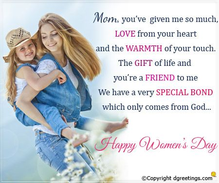 Happy Women S Day Wishes Messages 2017 For Mom Womens Day Quotes Happy Womens Day Quotes Happy Woman Day