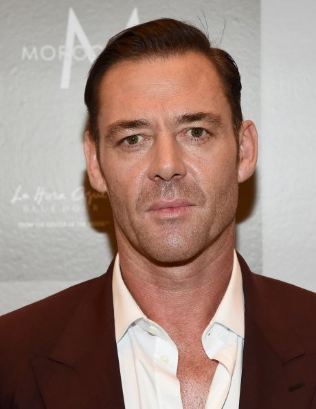 Marton Csokas at Variety Studio Presented By Moroccanoil ...