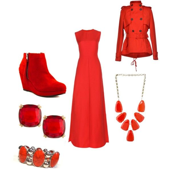 A fashion look from October 2014 featuring Valentino gowns, Caractère jackets and Blink ankle booties. Browse and shop related looks.