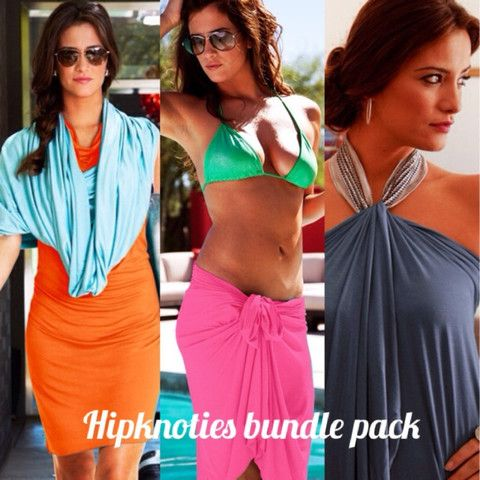 Hipknoties: One Garment, 30 Ways. A lifesaver for vacation and busy mommies!