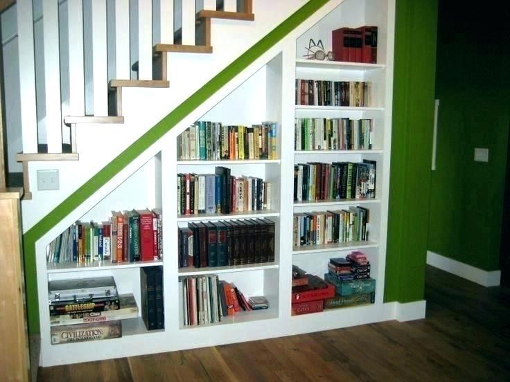 Stair Step Shelf Bulurum Co Shelves Under Stairs Remodel