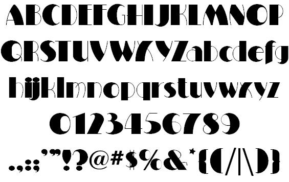Milton Burlesque Font | ART DECO Fonts | Art deco font