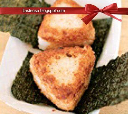 Garlic Yaki Onigiri Recipe | Veggying Out! in 2019 | Yaki