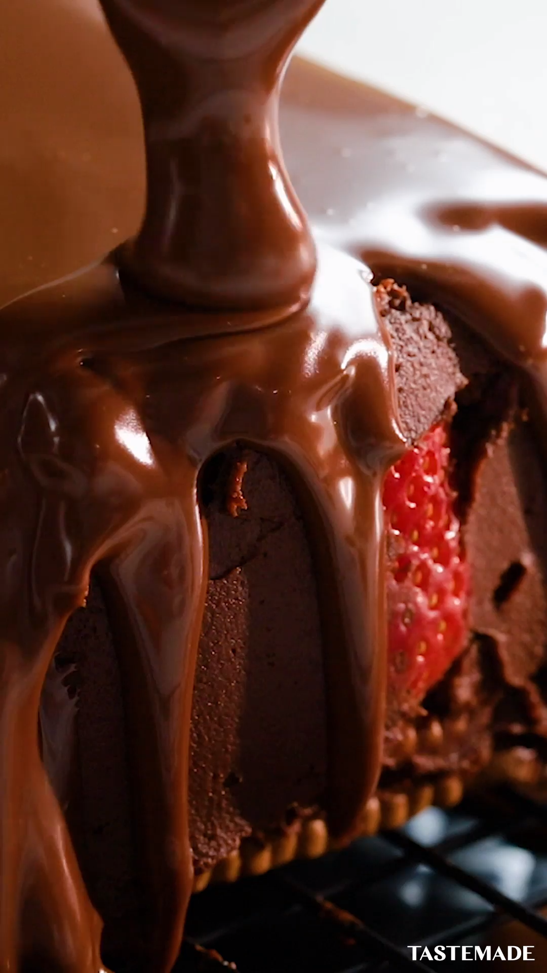 Photo of Strawberry and Chocolate Pyramid