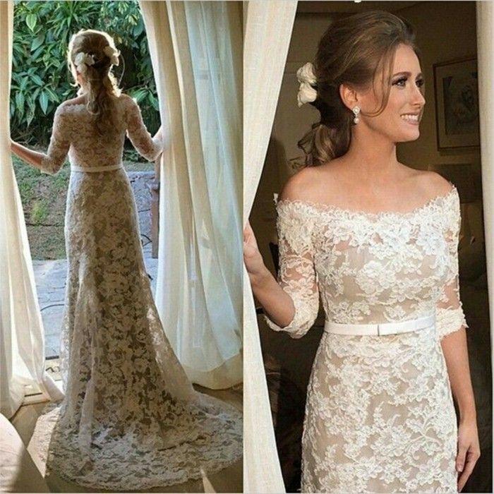 100 einzigartige Modelle Champagne Brautkleider ...