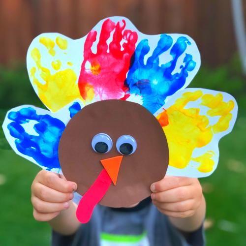 Handprint Turkey #handprintturkey