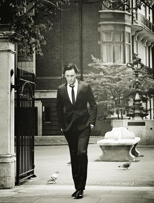 Tom Hiddleston, David Titlow, 2011