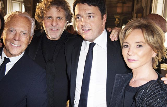 Italys Fashion Executives Vie for Stability Stand Behind Prime Minister Ahead of Referendum